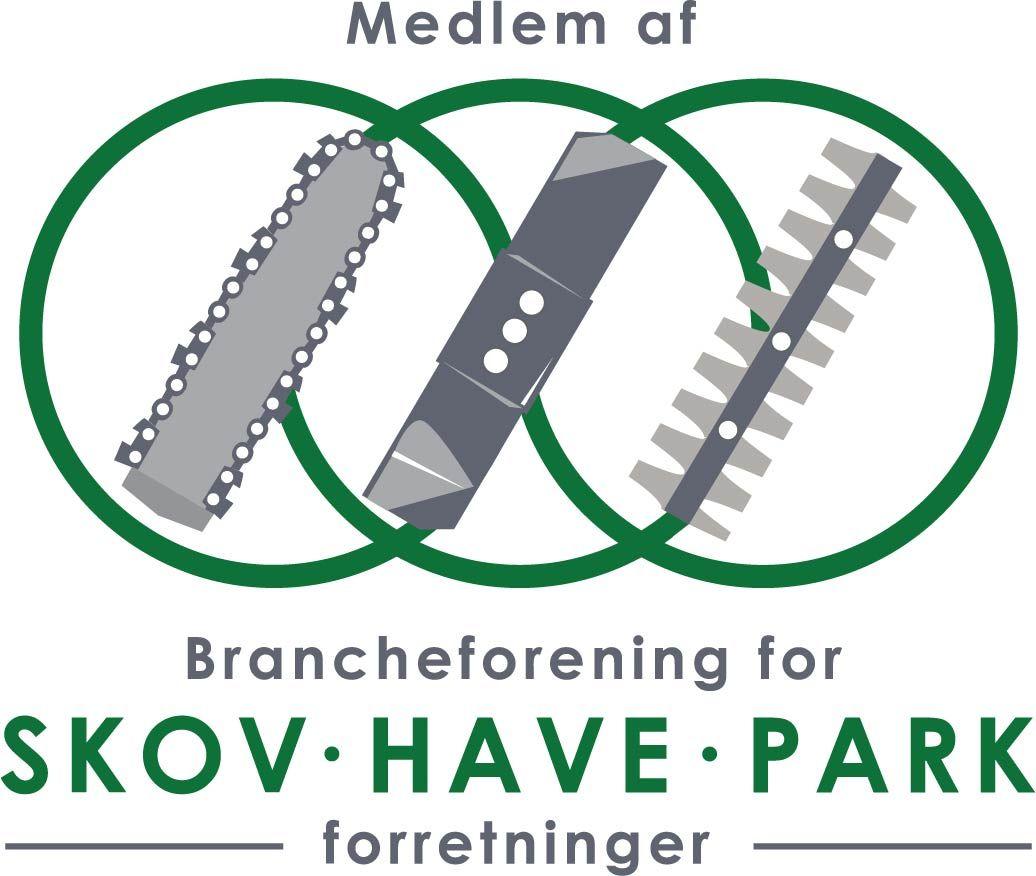 Vi er medlem af Skov Have Park - Aaagaard Maskiner og Udlejning