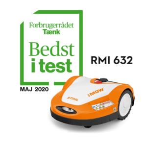 Stihl iMOW RMI 632 bedst i test