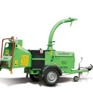 Leje af flishugger - Green Mech 150