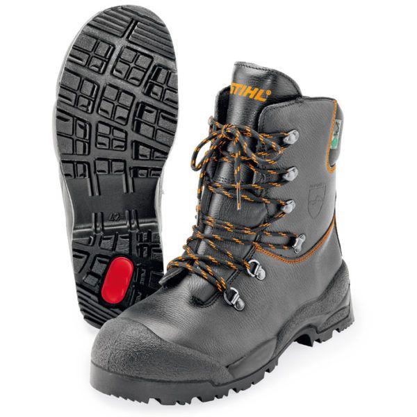 Stihl function læderstøvler