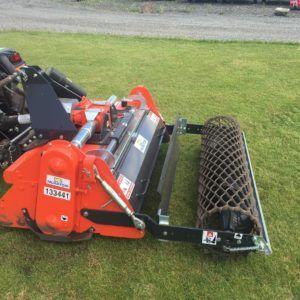 Udlejning af stennedlægningsfræser m. Ferrari 4WD traktor