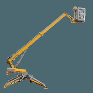 Udlejning af 10 m Omme-lift