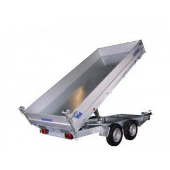 3-vejs tip trailer Variant 3519 m. trådløs fjernbetjening