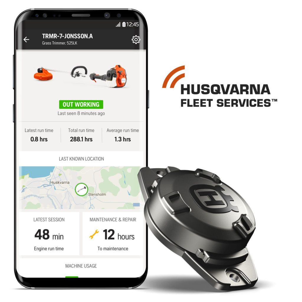 Husqvarna Fleet services