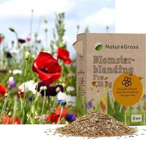 Natur Blomster-blanding NG 0,25 kg Æske